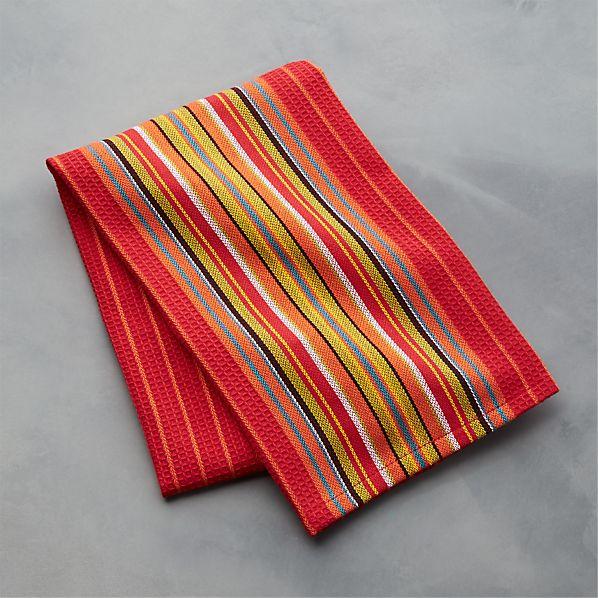 Salsa Dos Red Dish Towel