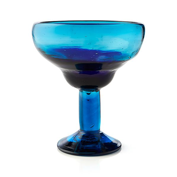 Salud Azul Margarita Glass
