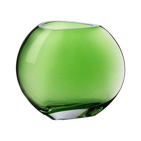 Samara Green Vase