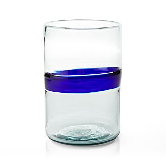 San Miguel Glass Hurricane Candle Holder