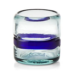 San Miguel Glass Votive Candle Holder