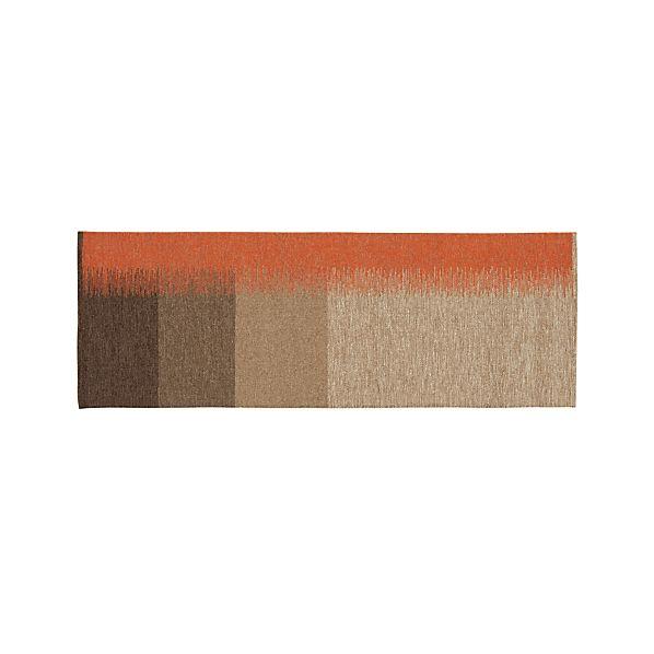 Sanderson Wool Dhurrie 2.5'x7' Rug Runner