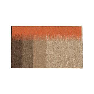 Sanderson Wool Dhurrie 3'x5' Rug