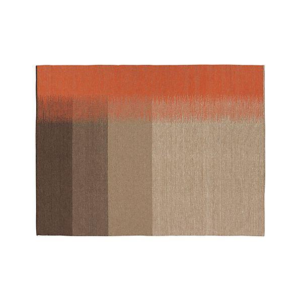Sanderson Wool Dhurrie 9'x12' Rug