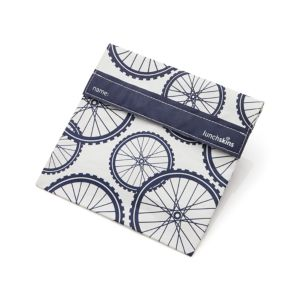 LunchSkins Bicycles Sandwich Bag