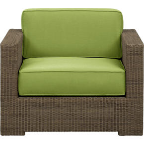 Sanibel Lounge Chair with Sunbrella® Kiwi Cushions