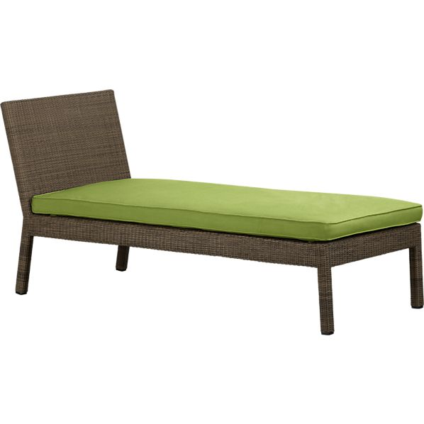 Sanibel Chaise Lounge with Sunbrella ® Kiwi Seat Cushion