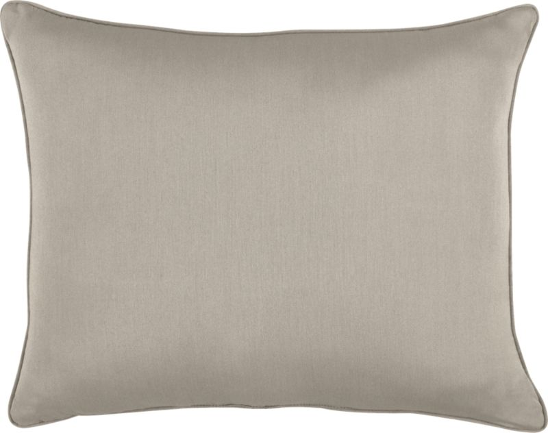 Stone wraps the optional back pillow for Sanibel Chaise Lounge.<br /><br /><NEWTAG/><ul><li>Fade- and mildew-resistant Sunbrella acrylic</li><li>Recycled polyester fill</li><li>Spot clean</li><li>Made in USA</li></ul>