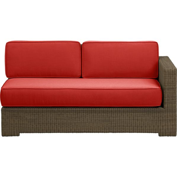 Sanibel Modular Right Arm Loveseat with Sunbrella ® Caliente Cushions