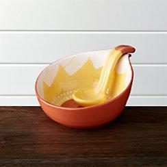 Santa Cruz Salsa Bowl With Spoon