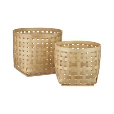 Set of 2 Santoso Baskets