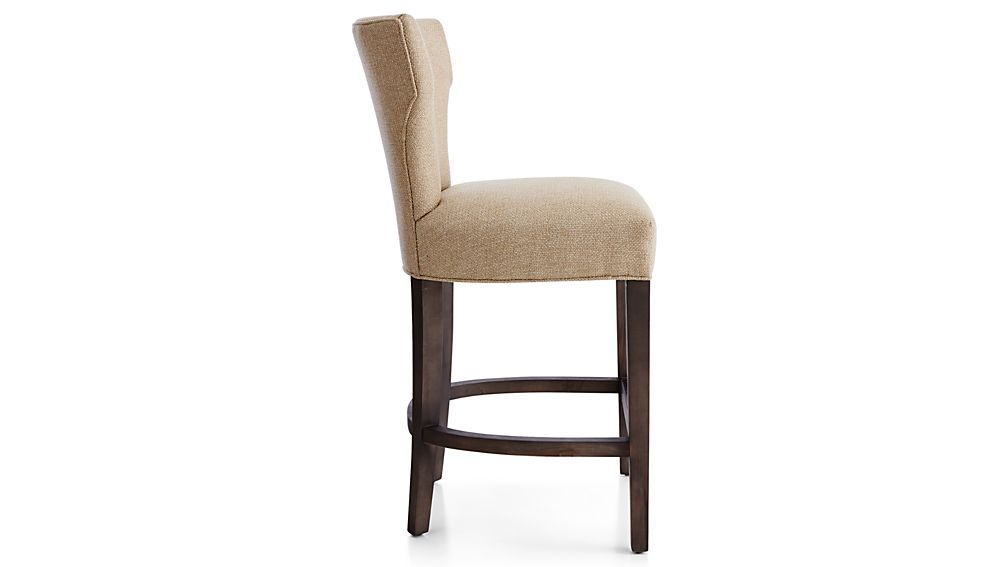 Sasha Upholstered Counter Stool Tobias Fennel Crate And