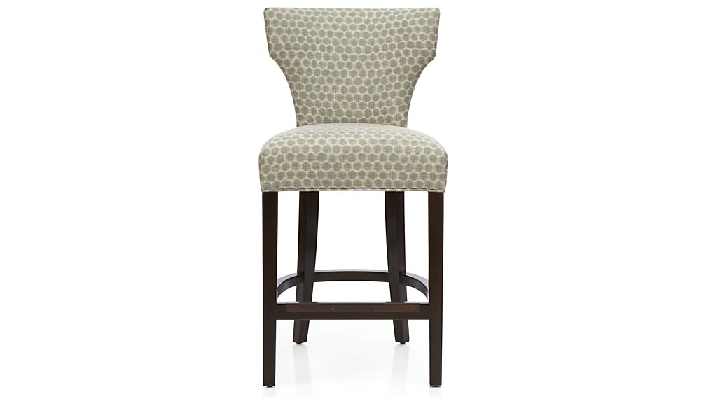 Sasha Upholstered Counter Stool Crate And Barrel