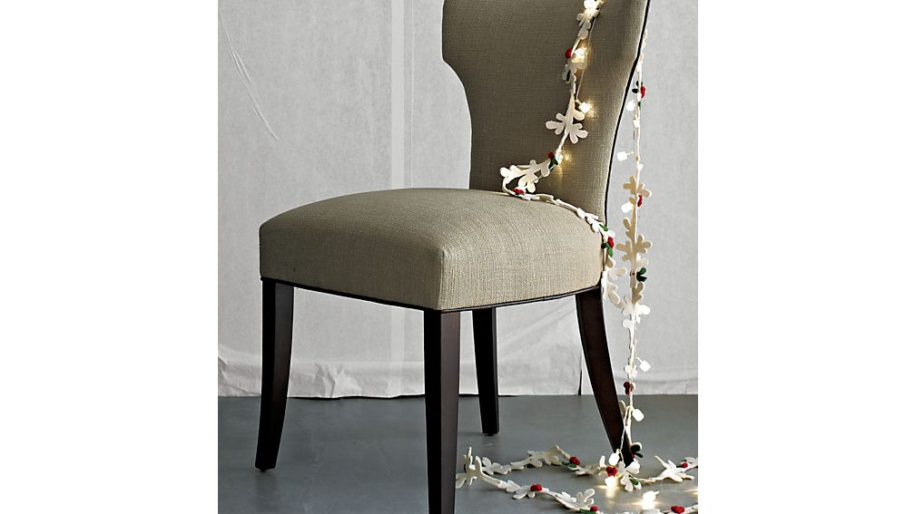 Sasha Dining Chair with Leather Welt