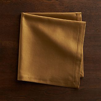 Sateen Gold Cloth Dinner Napkin