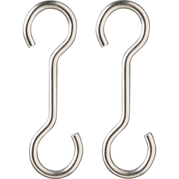 "Set of 2 J.K. Adams 4"" Extension Hooks"