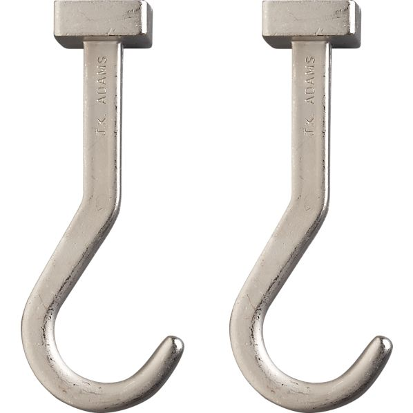 Set of 2 J.K. Adams Pot Hooks