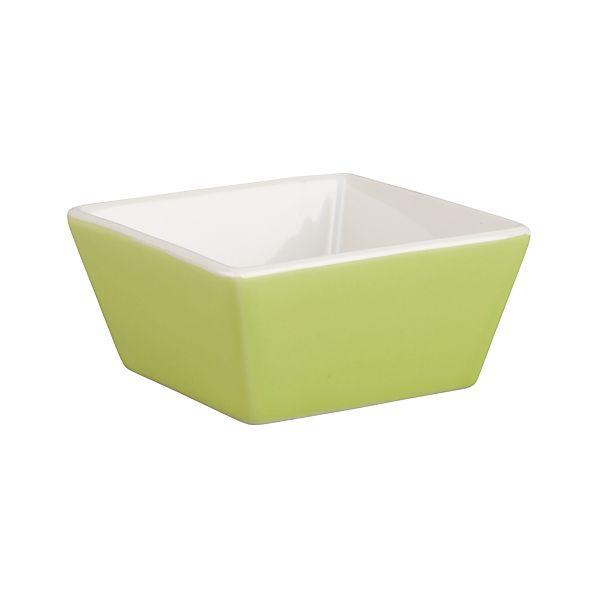 """Green 3.25"""" Sauce Dish"""