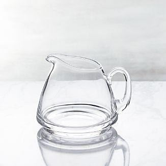 Glass Sauce Server