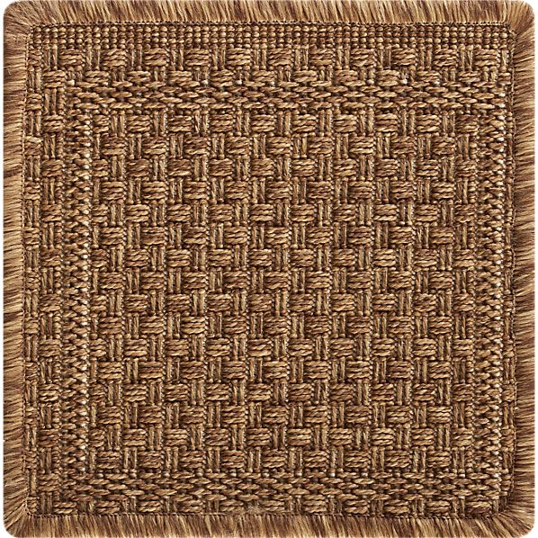 "Savannah Cane 12"" sq. Rug Swatch"