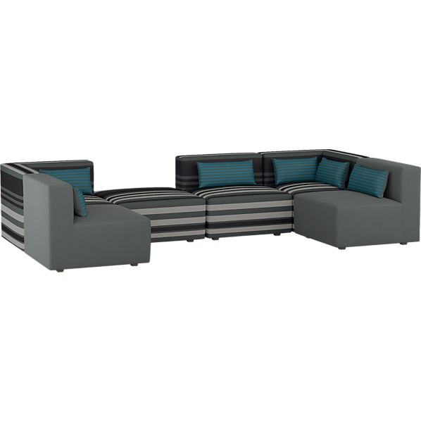 Savino 6-Piece Sectional Sofa