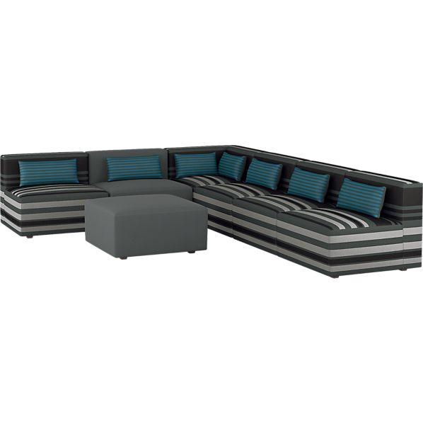 Savino 7-Piece Sectional Sofa