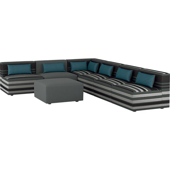 Savino 7-Piece Sectional Sofa