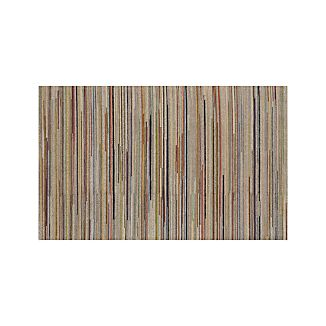 Savoy Tweed Striped Hand Knotted Wool 5'x8' Rug