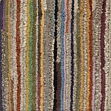 """Savoy Tweed Striped Hand Knotted Wool Rug 12"""" Sq Rug Swatch"""