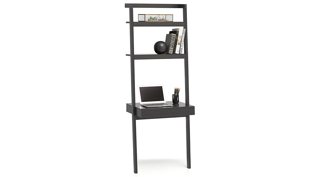 Sawyer Grey Leaning Desk