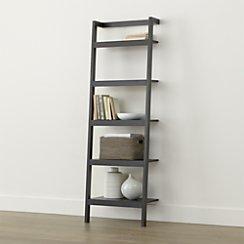 "Sawyer Grey Leaning 24.5"" Bookcase"