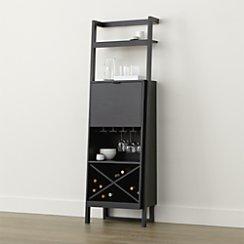 Sawyer Grey Leaning Wine Bar