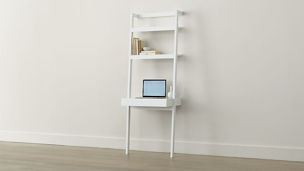 white ladder desk 3