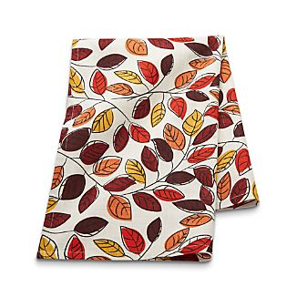 Scattered Leaves Dish Towel