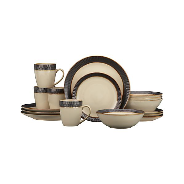 Scavo 16-Piece Dinnerware Set