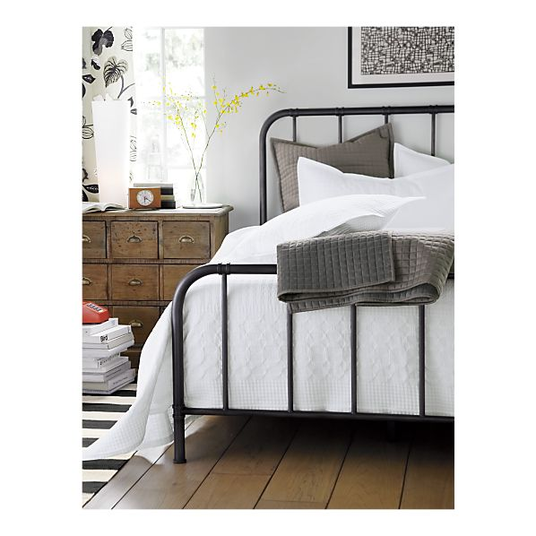 scholar bed crate and barrel
