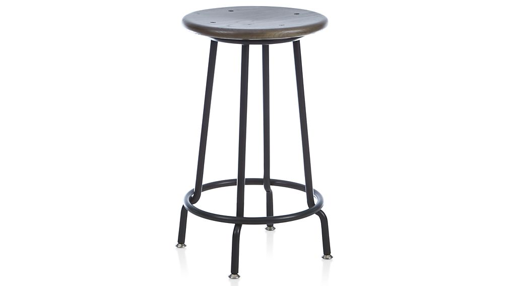 Scholar Backless Bar Stool Crate And Barrel