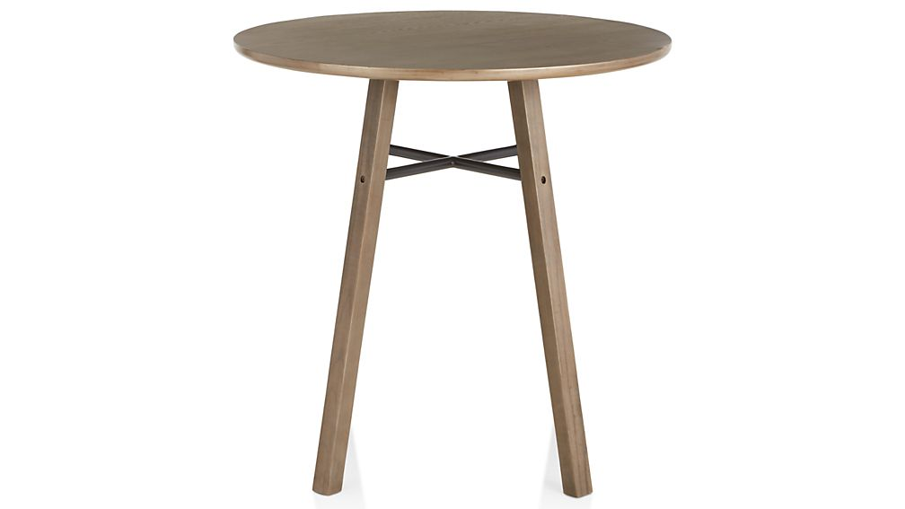 Scholar Round High Dining Table