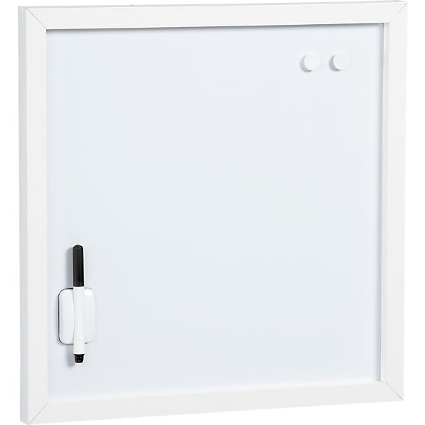 Scoop White Magnetic-Dry Erase Board