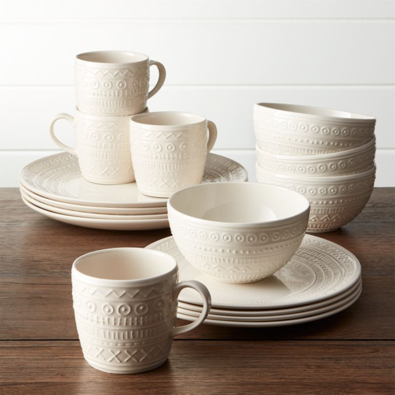 Scribe 16-Piece Place Setting