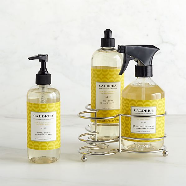 Caldrea ® Sea Salt Neroli 3-Piece Kitchen Soap Set