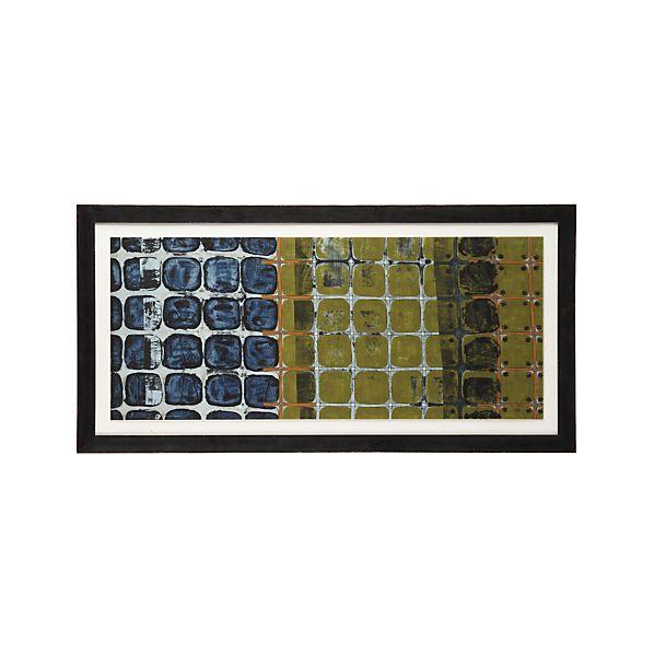 Seasonal Fence Print
