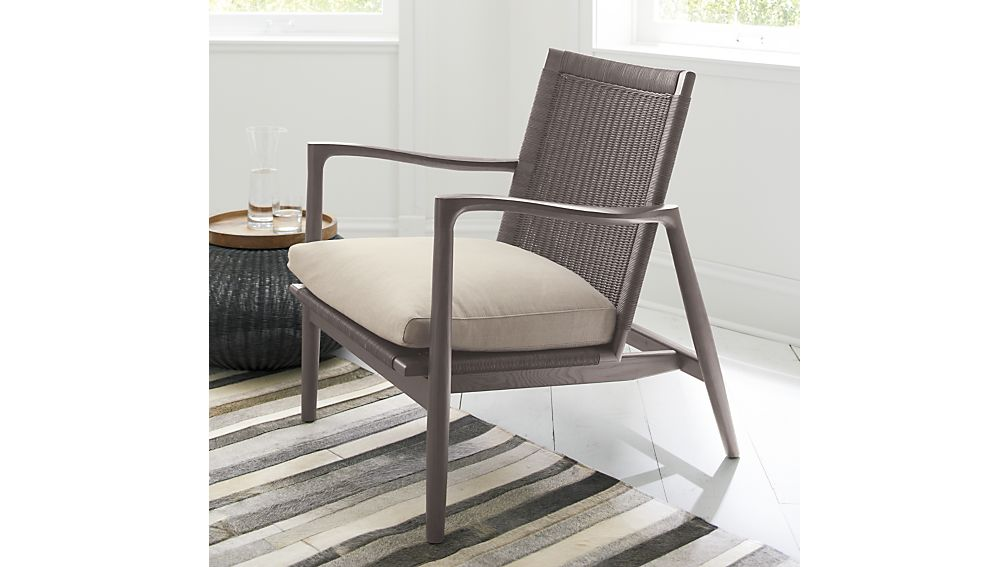 Sebago Chair with Fabric Cushion