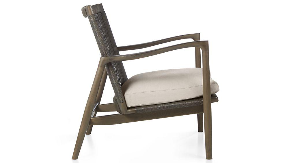 Sebago Chair with Fabric Cushion