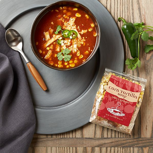 Secret Garden Corn Tortilla Soup