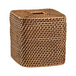 Sedona Honey Square Tissue Box Cover