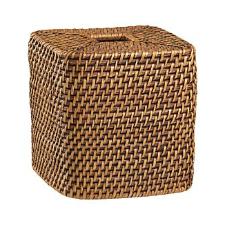 Sedona Honey Square Tissue Box Cover