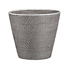 Sedona Grey Tapered Waste Basket/Trash Can.