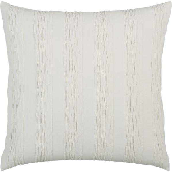 """Seersucker 20"""" Pillow"""