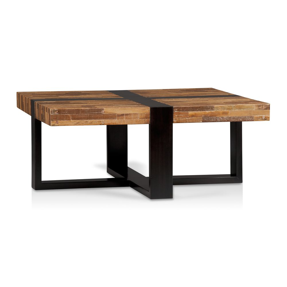 Furniture Living Room Furniture Square Table Solid Wood Square Table